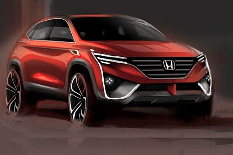All-new Honda HR-V SUV reveal in May 2021 - Autocar India