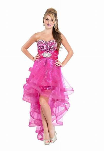 Dresses Prom Low Pink Sparkly Sequin Pretty