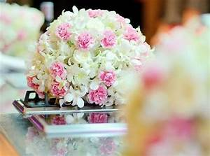 Boule De Rose : centre de table floral pour votre mariage ~ Teatrodelosmanantiales.com Idées de Décoration