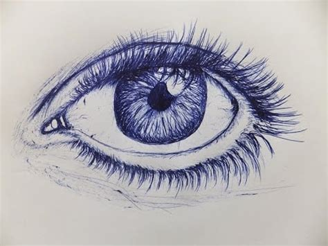 draw  eye  ballpoint  youtube