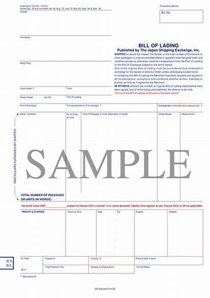 Lading Bill Form Example Examples Pdf Shipping