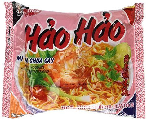 hao hao mi tom chua cay hot sour shrimp flavor noodle