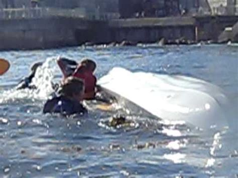 Giant Squid Attacks Fishing Boat by Giant Squid Attack Capsizes Kayakers In Monterey Bay Nov