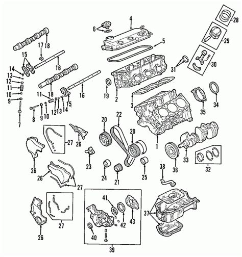 Oem Mitsubishi Eclipse Parts by 2001 Mitsubishi Eclipse Engine Diagram Automotive Parts