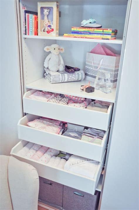 nursery baby closet organization girl room room