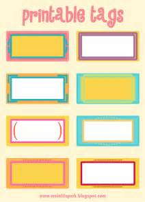 Free Printable Blank Name Tags