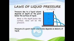 Laws Of Liquid Pressure-1  Ga M-fld09