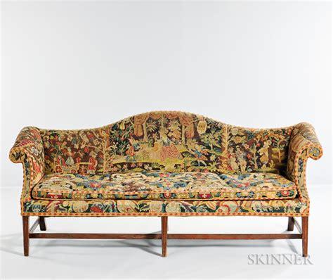 Georgian Settee by Georgian Tapestry Upholstered Settee Sale Number 3070b