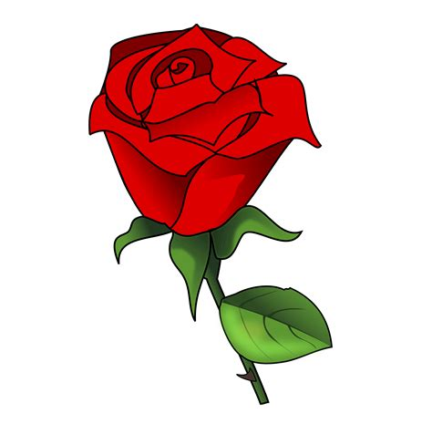 red rose clip art    red rose clip art