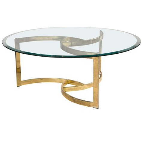 metal dining table base only mid century brass swirl base with glass top coffee