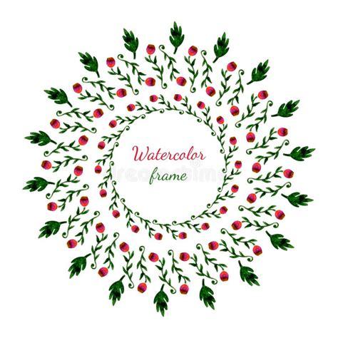 grinalda floral cart 227 o do convite do casamento ou de anivers 225 frame floral fundo da aguarela