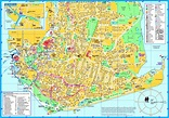 Portsmouth tourist map