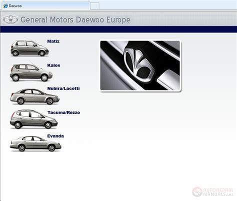 service and repair manuals 2006 pontiac daewoo kalos navigation system daewoo tis eu service manual auto repair manual forum heavy equipment forums download