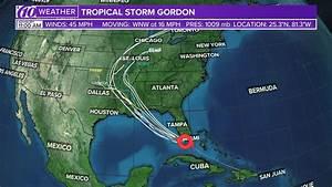 Track Tropical Storm Gordon: Spaghetti models, forecast ...