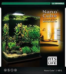 Aquarium Einrichten 60l : dennerle nano cube complete plus 60 liter aquarium ~ Michelbontemps.com Haus und Dekorationen