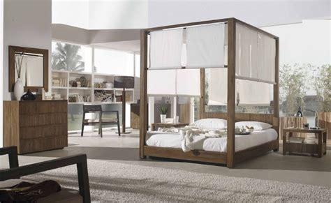 chambre teck lit baldaquin lambaca en teck massif de qualit meuble