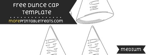 Dunce Hat Template by Dunce Cap Template Small