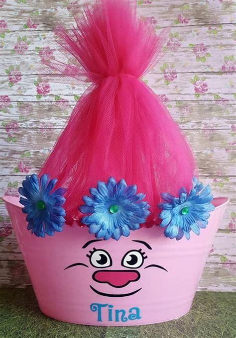 Trolls O L Easter Tub Toy Storage Basket By