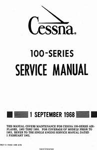 Cessna 100 Series Service Manual 1968 D637