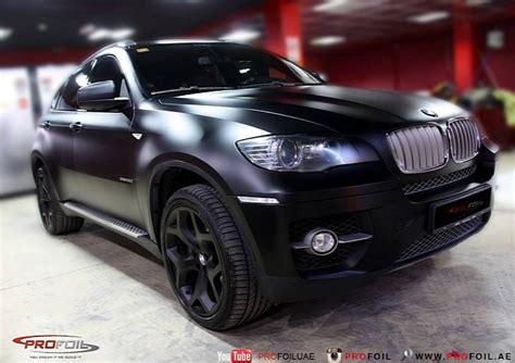 E71 Bmw X6 Semimatte Black Wrap  Bmw Car Tuning