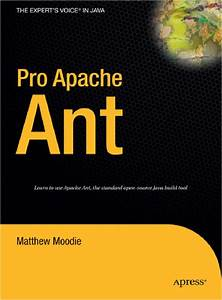 Book Review  Pro Apache Ant By Matthew Moodie