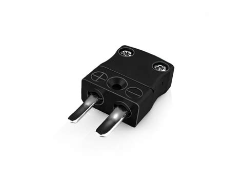 Miniature Thermocouple Connector Plug Type J Iec
