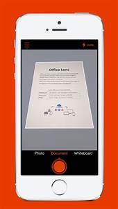 office lens convert physical papers into editable word With iphone app office documents