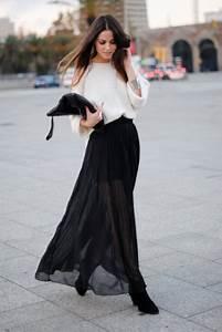 How to Wear a Maxi Skirt u2013 Glam Radar