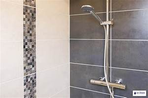 superior cuisine blanche mur taupe 14 indogate salle de With salle de bain gris et blanc