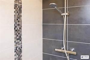 best salle de bain sol gris fonce 2 contemporary awesome With meuble salle de bain sol