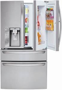 Lg Stainless 4-door French Door Refrigerator
