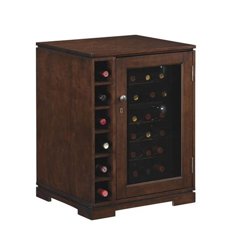 wine fridge cabinet tresanti cabernet wine cabinet 18 bottle wine cooler in
