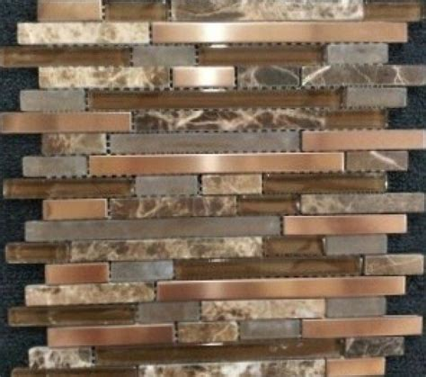 copper tiles for kitchen backsplash copper harbor linear jpg 600 531 pixels backsplash