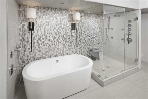 tiled wallpaper  bathrooms  bathroom ideas