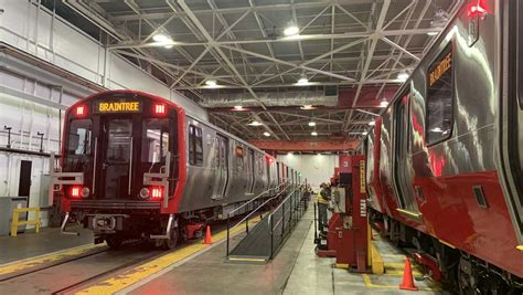All aboard! Touring the MBTA's new Red Line trains