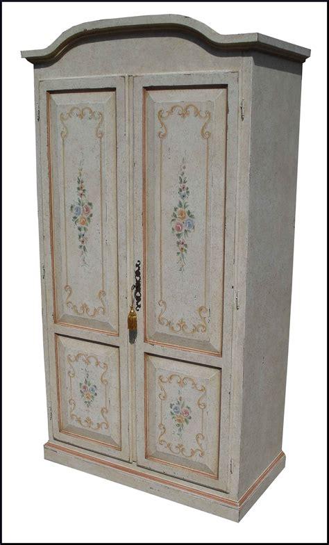 guardaroba due ante armadio a due ante decorato in stile provenzale mobili