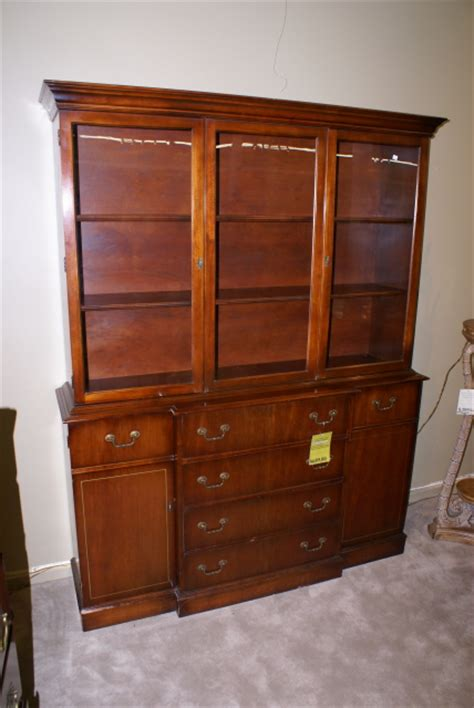 antique breakfront china cabinet another mahogany breakfront desk china cabinet