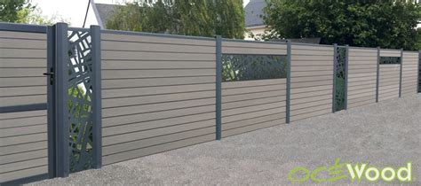 cloture decorative pour jardin des lames d 233 coratives en aluminium pour ma cl 244 ture