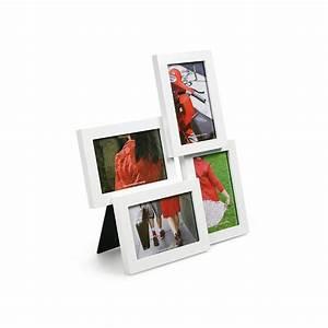 Großer Bilderrahmen Für Mehrere Bilder : bilderrahmen lira f r 4 fotos wei 28 95 ~ Bigdaddyawards.com Haus und Dekorationen