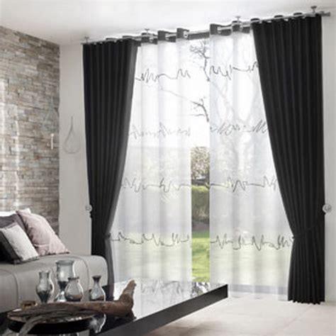 Vorhänge Für Grosse Fensterfront by Gardinen Wohnzimmer Modern