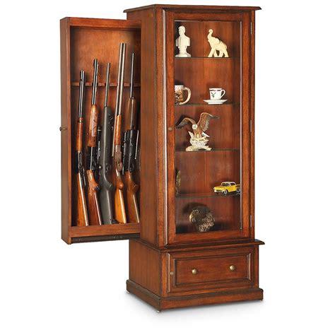 american furniture classics gun cabinet american furniture classics 10 gun curio slider cabinet