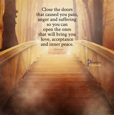 close  doors   pain  suffering