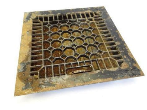Hvac vent cover how to makeover your floor register vents decorative air conditioner return covers registers. Metal Grate | eBay