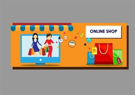 shopping design elements bags computer  symbols