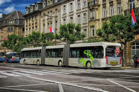 Luxembourg : tous les transports publics sont désormais ...