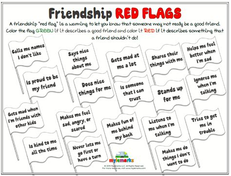 friendship red flags