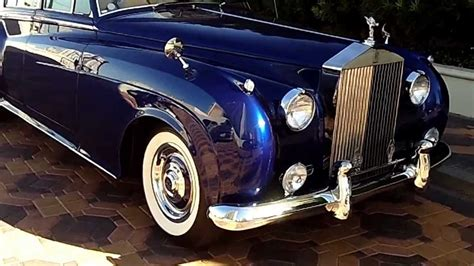 1960 Rolls Royce At Celebrity Cars Las Vegas