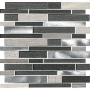 grey brick tiles kitchen loft interlocking 12 in x 12 in x 4 mm glass 4055