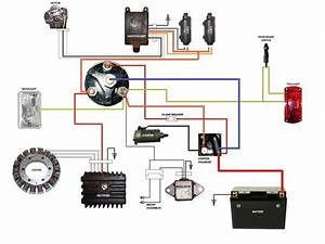 17 Best Images About Motorcycle Wiring Diagrams On Pinterest