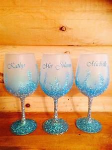 How To Make Glitter Wine Glasses - Oasis amor Fashion